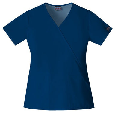 Women's Workwear Mock Wrap Top