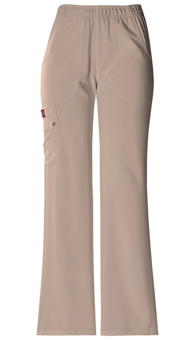 Women's Extreme Stretch Elastic Waist Pull On Pant - Khaki