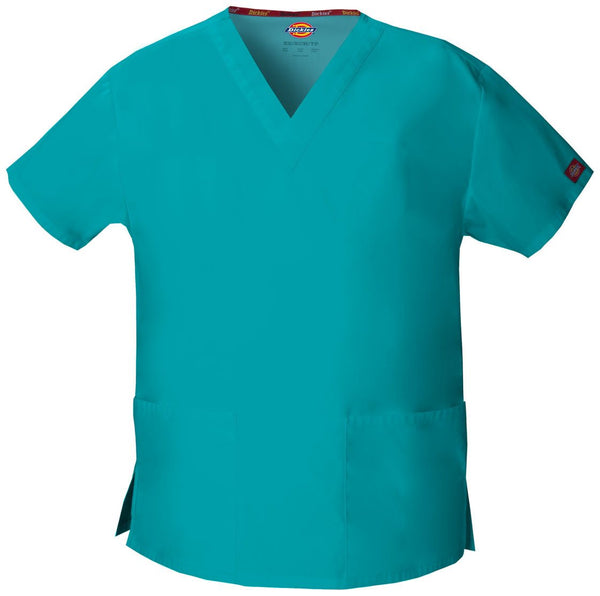 Women's Everyday Scrubs Signature V-Neck Top - Teal