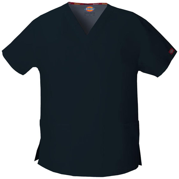 Women's Everyday Scrubs Signature V-Neck Top - Navy