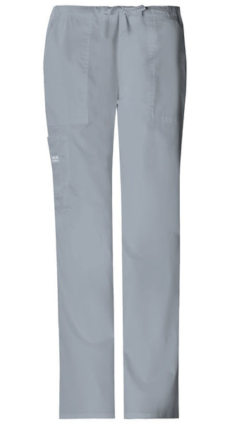 Women's Workwear Core Stretch Drawstring Flare Pant - Grey