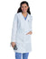 Scrub Shopper Women's Knot Button Lab Coat - Scrub Shopper