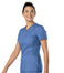 Scrub Shopper Women's Knit Panel V-Neck Top - Scrub Shopper