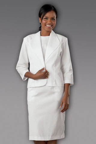 Women's 3/4 Sleeve 2-Piece Dress Suit