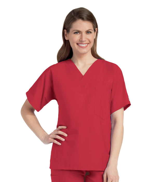 Scrub Shopper Unisex V-Neck Scrub Top - Scrub Shopper