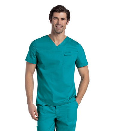 Scrub Shopper Men's Pre-Washed V-Neck Top - Scrub Shopper