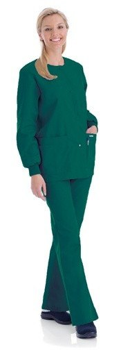 Women's Warm Up Jacket - Hunter Green