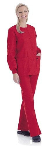 Women's Warm Up Jacket - True Red