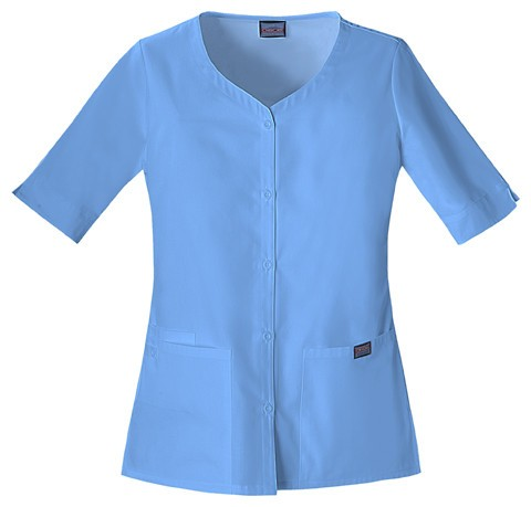 Women's Workwear Button Up Top - Ciel