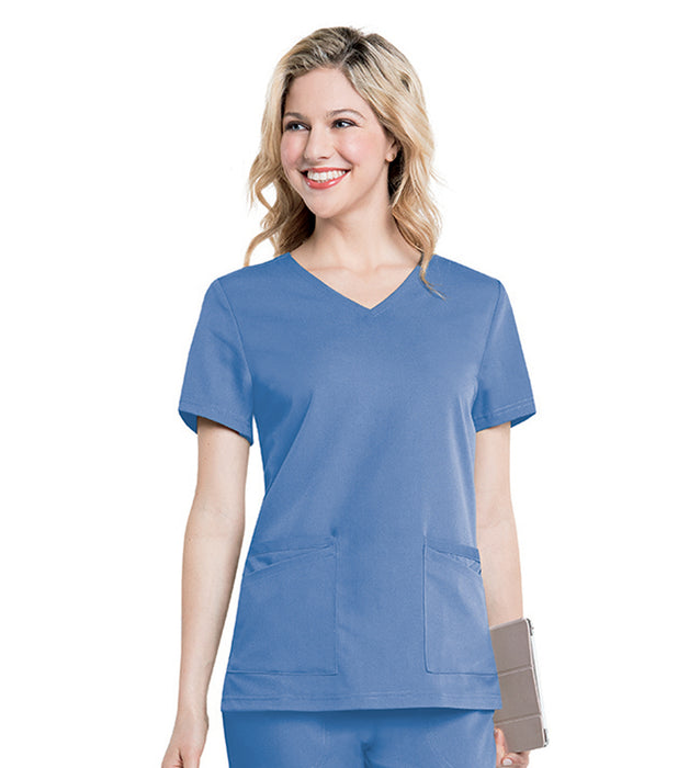 Scrub Shopper Chelsea Soft V-Neck Tunic - Scrub Shopper