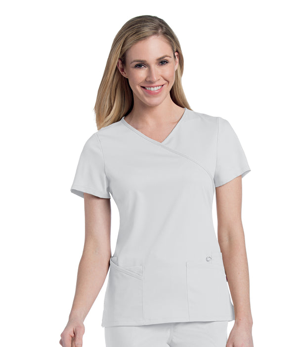 Scrub Shopper Women's Sophie Crossover Tunic - Scrub Shopper