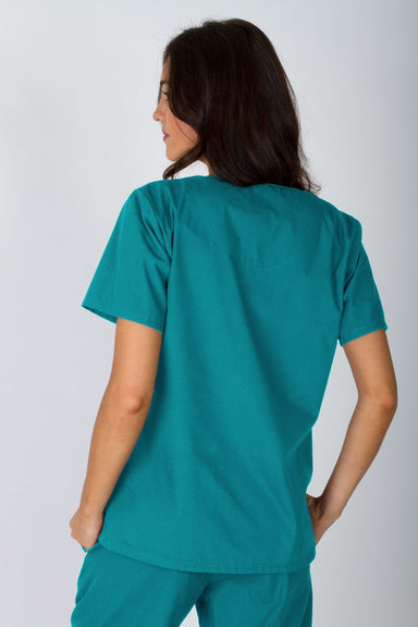 V-Neck Tunic - Teal