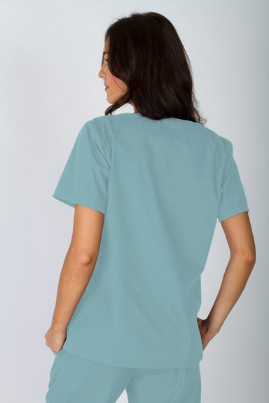 V-Neck Tunic - Sea Mist