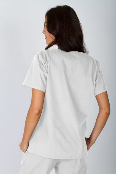 V-Neck Tunic - White