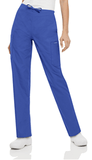 Women's Cargo Drawstring Pant - Royal Blue