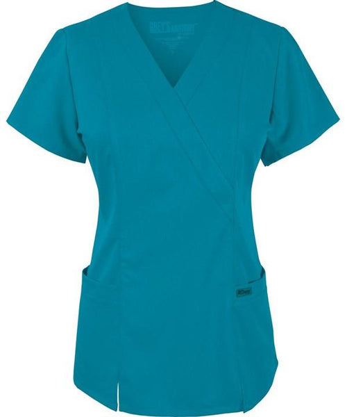 Women's Junior Fit Princess Top - Teal