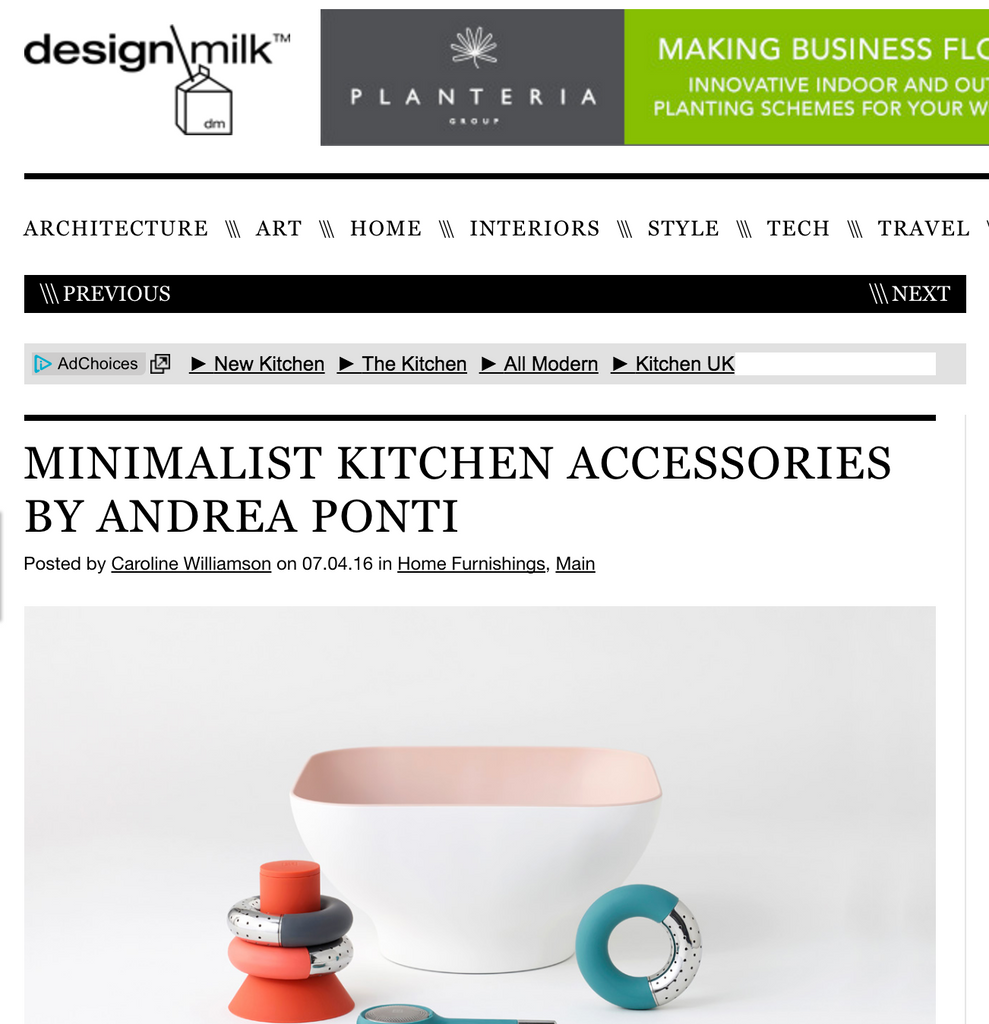 Andrea Ponti for OMMO on design milk