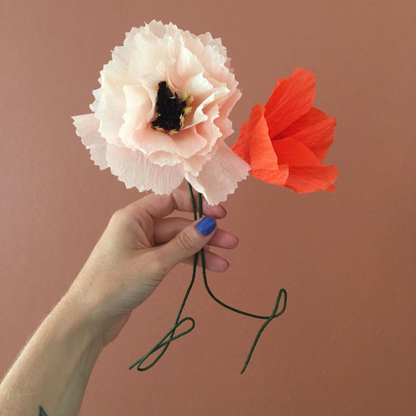 Paper Flower - Nude Peony BY STUDIO ABOUT