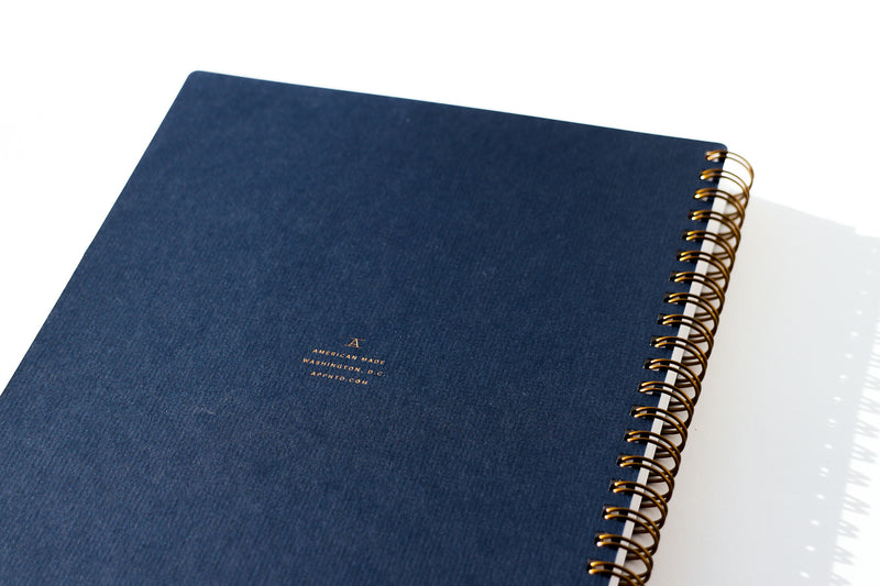Workbook / Navy Blue