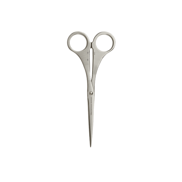 Before breakfast hand polished stainless steel scissors in silver