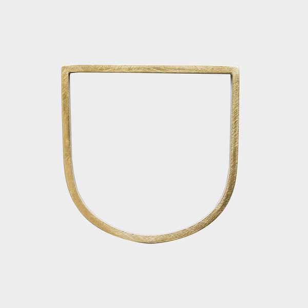 Minimal D Bangle Chunky