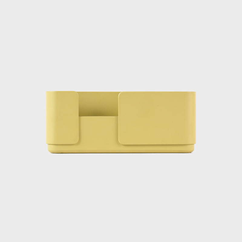 Double dinner candle holder in yellow for dinner candles for the contemporary design lover and scandinavian style