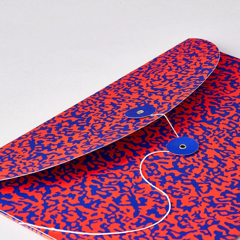 Ripple Red/Blue Organiser Envelope