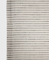 Yinyang Linen Tea Towel / Wheat+Black
