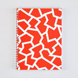 Fracture Red Notebook