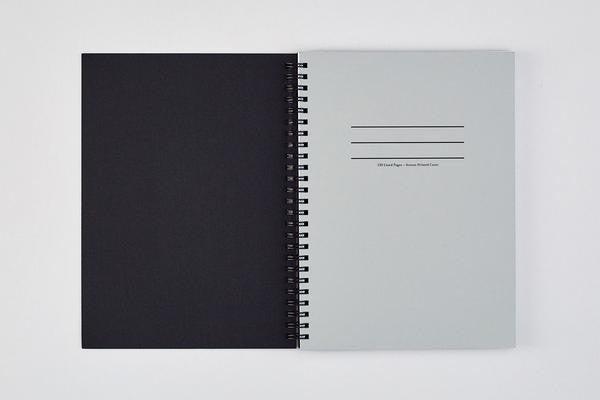 Ripple Blue/Black Notebook
