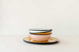 White Enameled small Bowl by Utilitario Mexicano