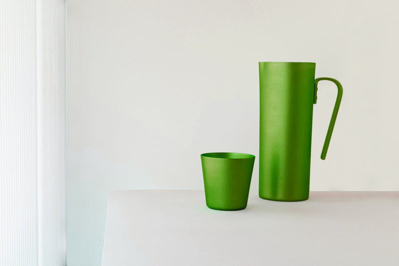 Anodised Aluminium 1.5L Pitcher Green