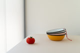 pink Enameled small Bowl by Utilitario Mexicano