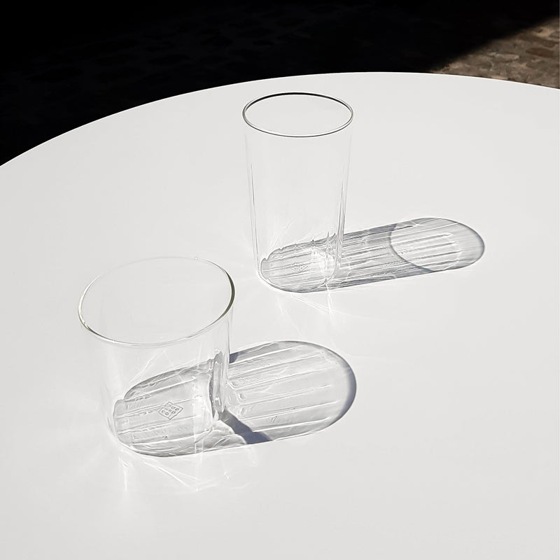 Yod and Co Rivington high ball glasses design by London design studio Blond