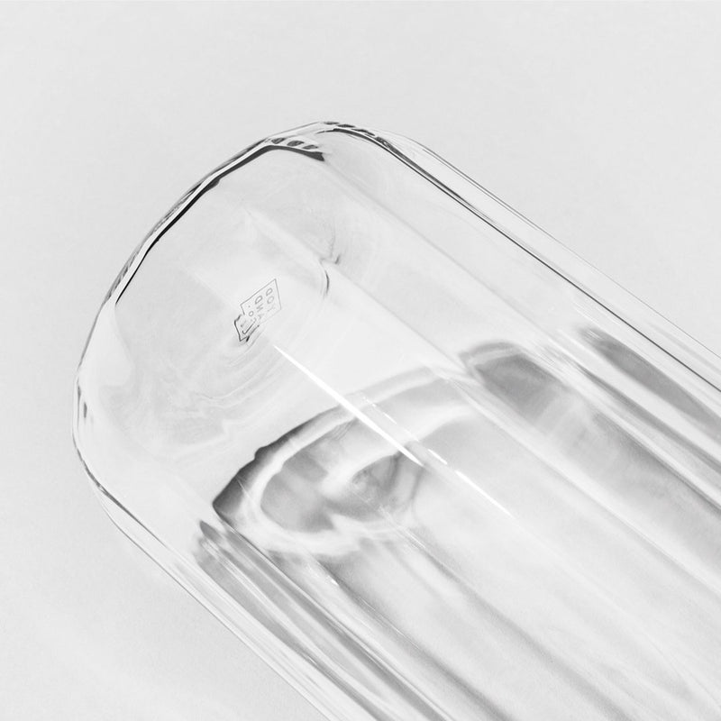 Yod and Co Rivington glass carafes design by Blond design studio detail shot