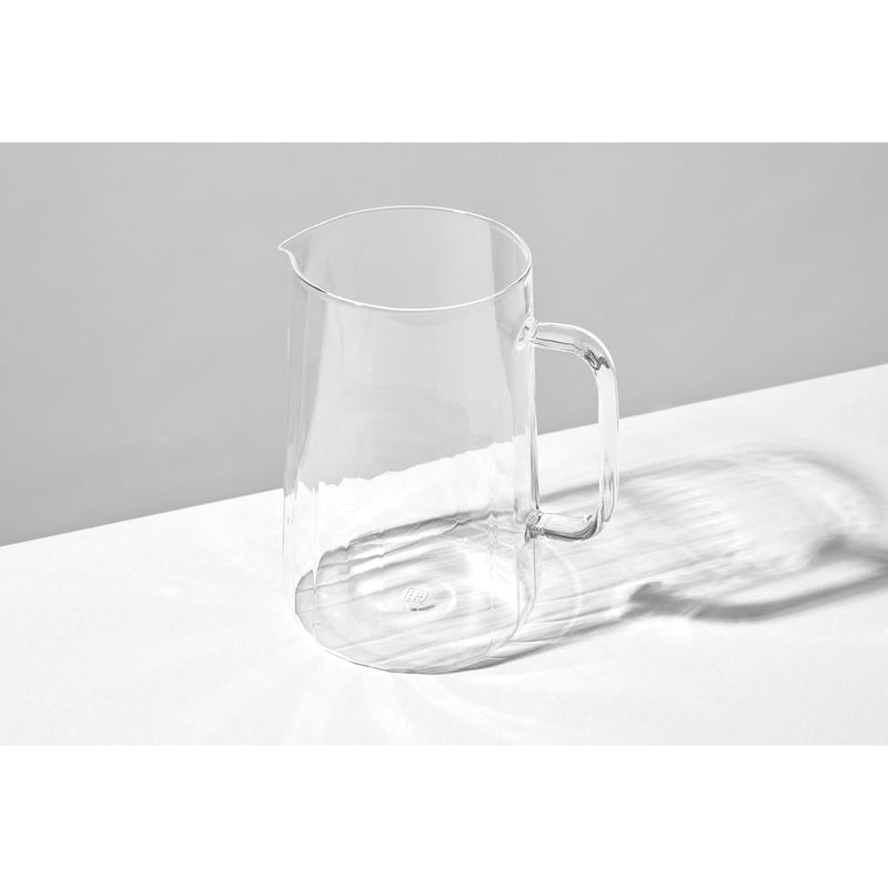 Yod and Co Rivington glass jug design by Blond design studio
