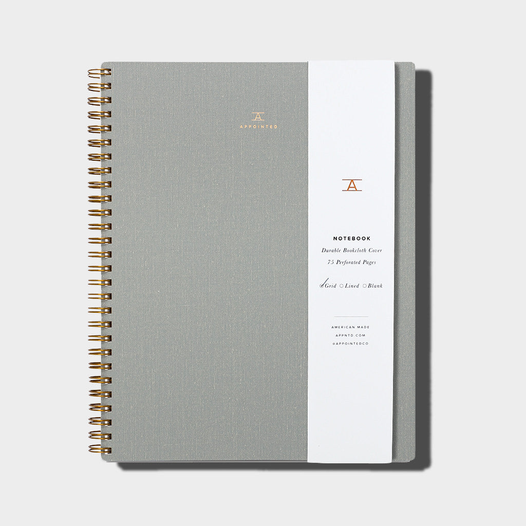 Notebook / Dove Grey
