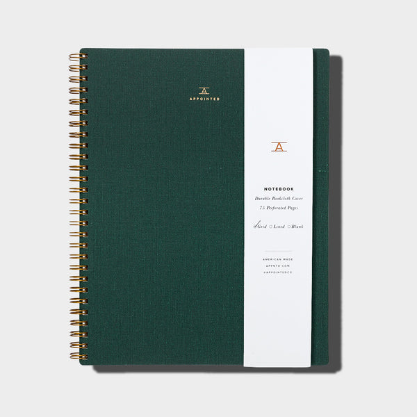 Notebook / Hunter Green