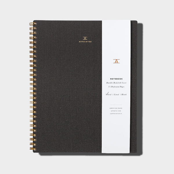 Notebook / Charcoal Grey