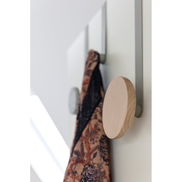 Long Oak Over Door Hook
