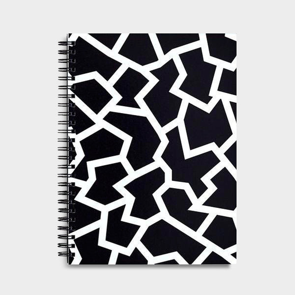Fracture Black Notebook