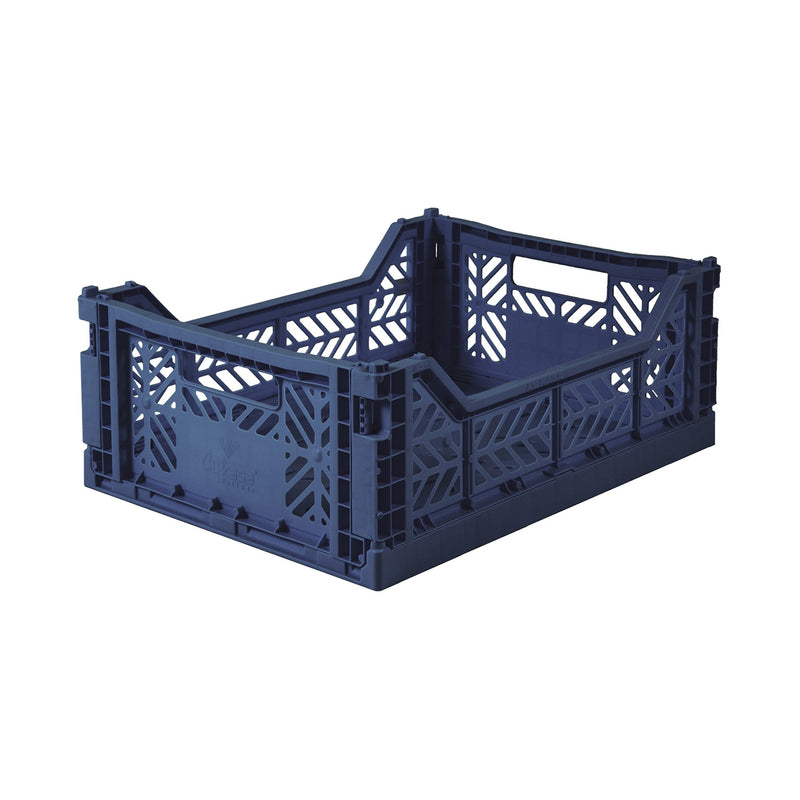 Midi Colour Crate - Navy