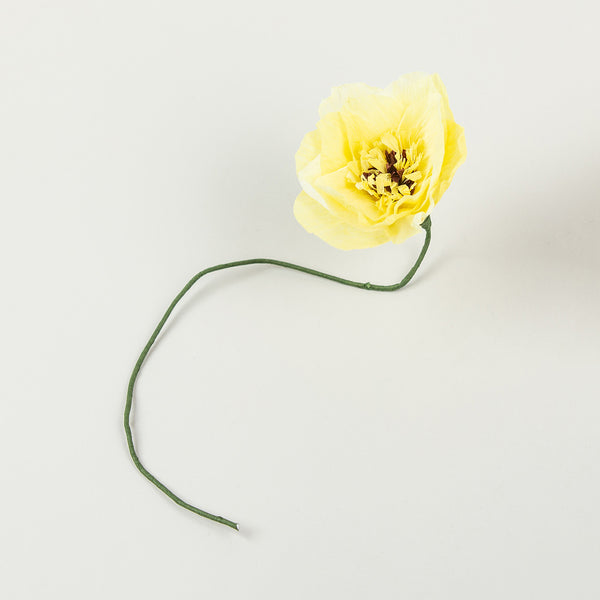 paper flower yellow dahlia by studio about