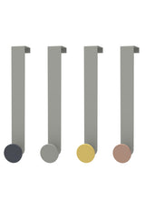 Medium Metal Over Door Hook / Various Colours