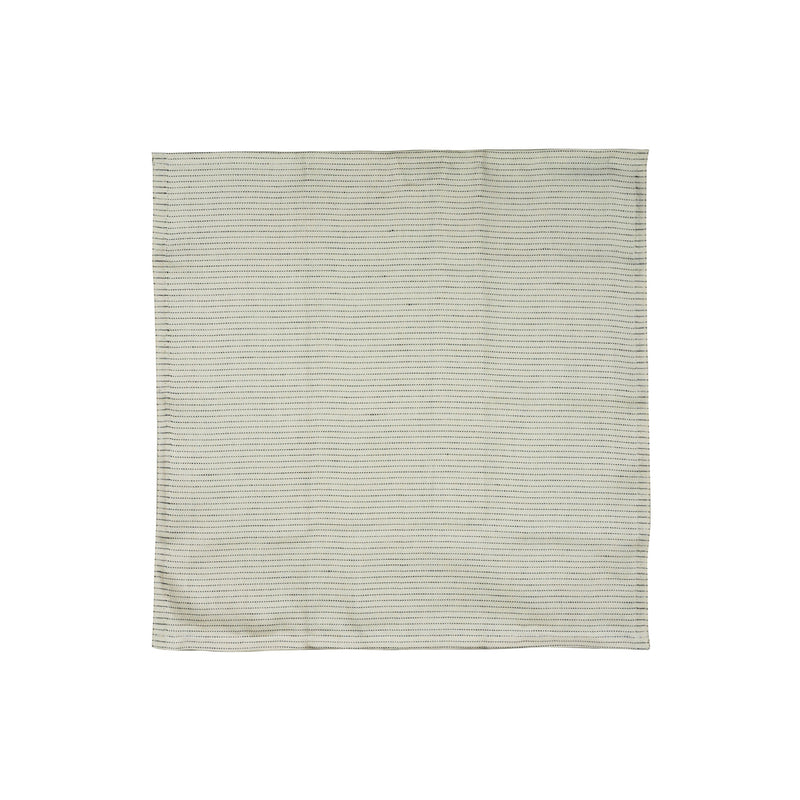 Sashiko Square Towel / White
