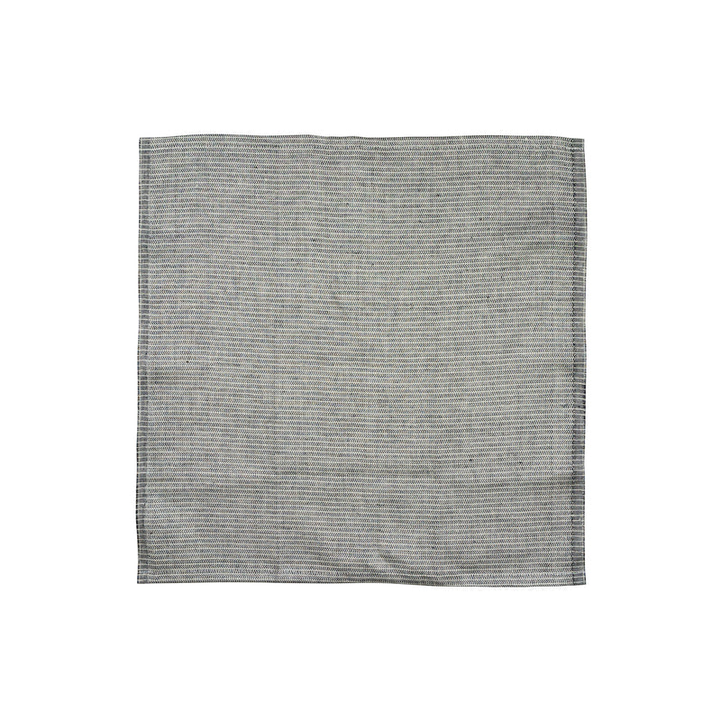 Yinyang Square Towel / Black+Wheat