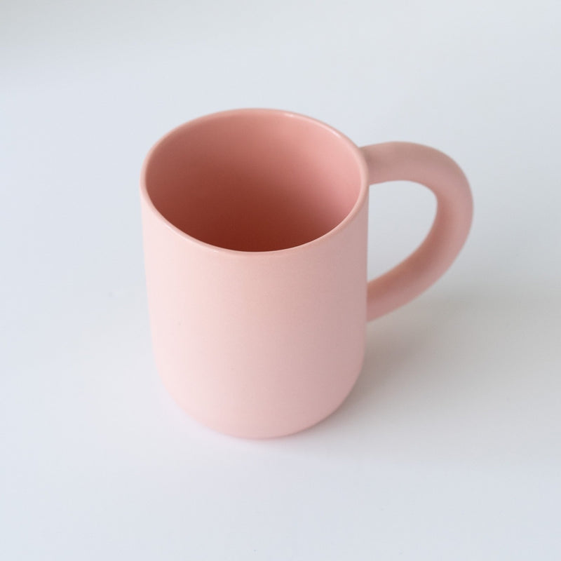 laureanne kootstra design hand made ceramic pink porcelain mug