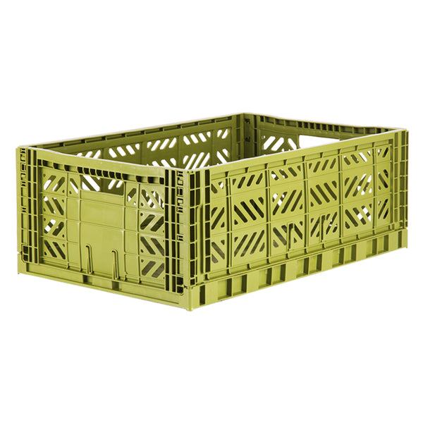 Hay Crates, aykasa large colour crate in green