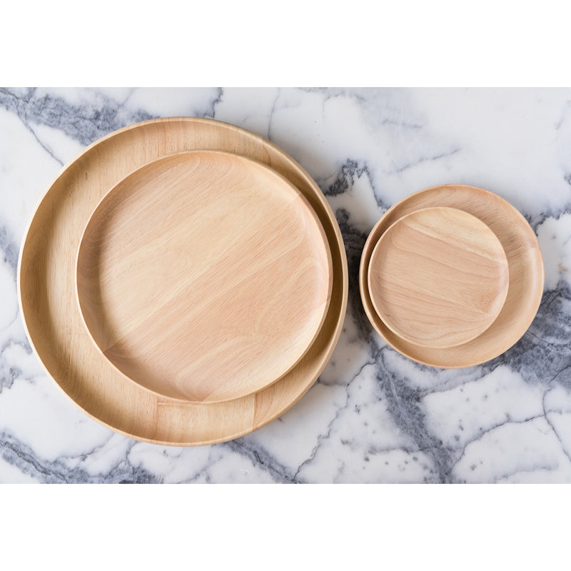 Wood Plates + Platters / Various Sizes