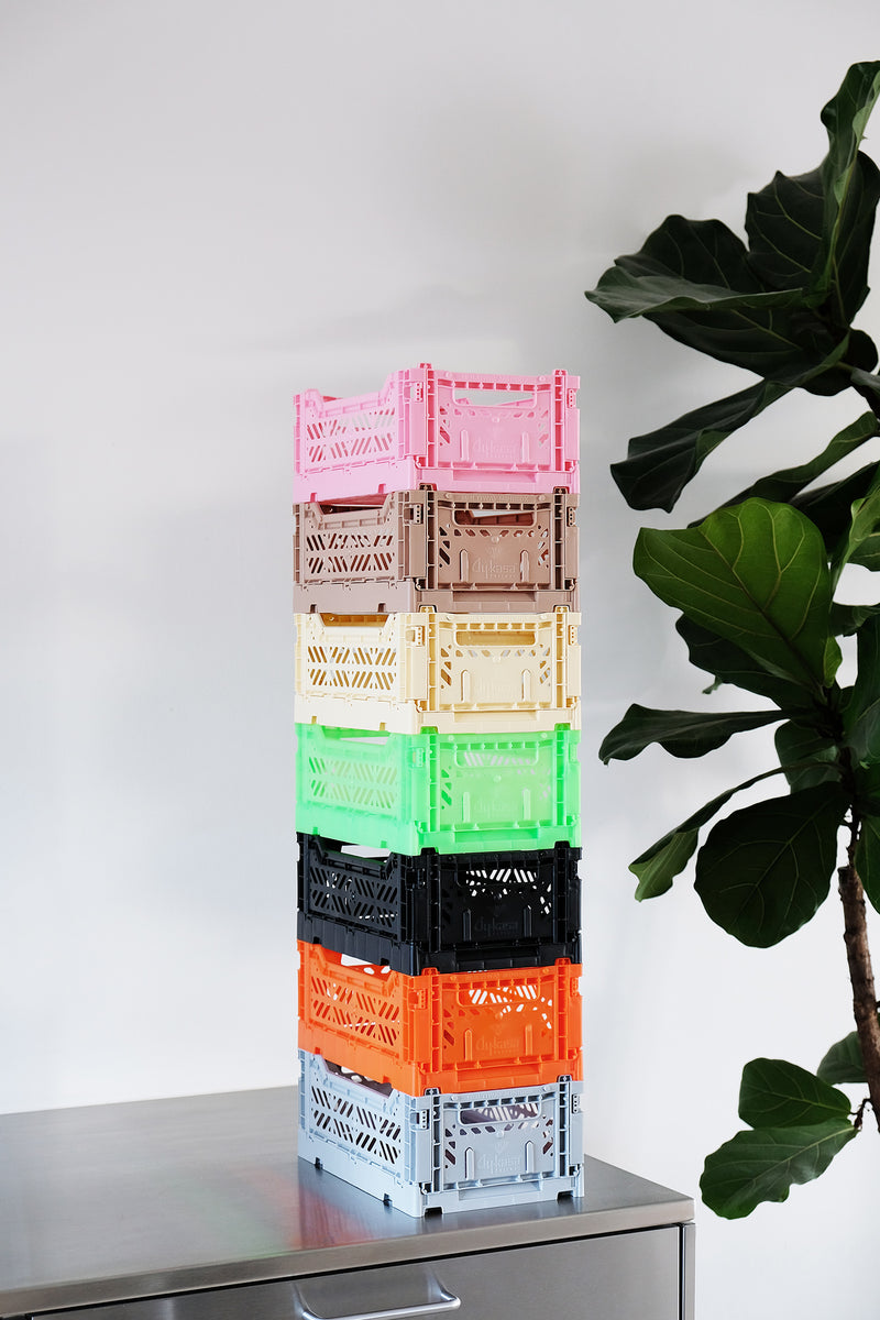 HAY CRATES in multicolour, Aykasa mini crate